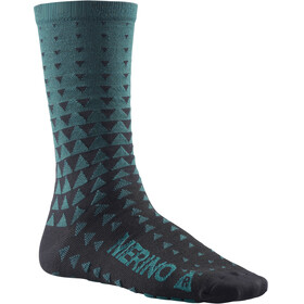 Mavic Ksyrium Merino Graphic Socks majolica blue